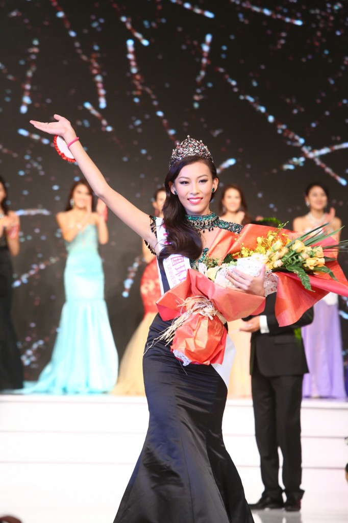 Newly Crowned Miss Universe China