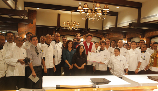 Marco Pierre White becomes first non-Sri Lankan to receive honourary membership of Sri Lankan Chefs Guild at Cinnamon Master Class