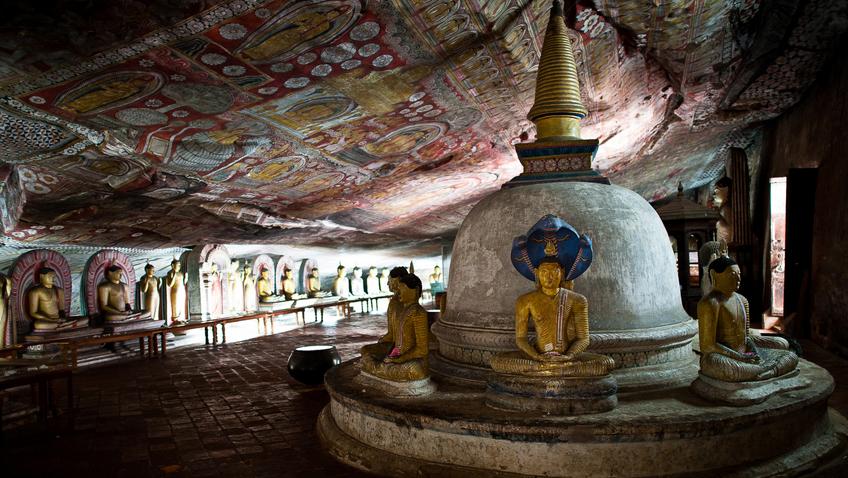 Dambulla: Sri Lanka's Mountaintop Temple